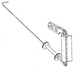 Gooseneck/kicking strapBall raced for all round mast and booms part