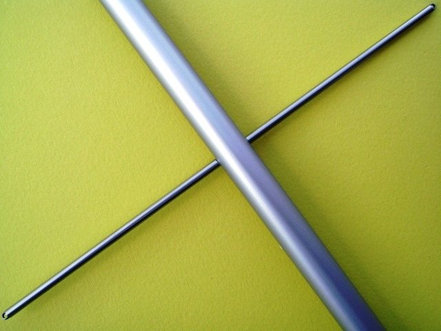Spreader Kit, Round Aluminium, 2 x 100mm long w3mm threaded rod M,10R