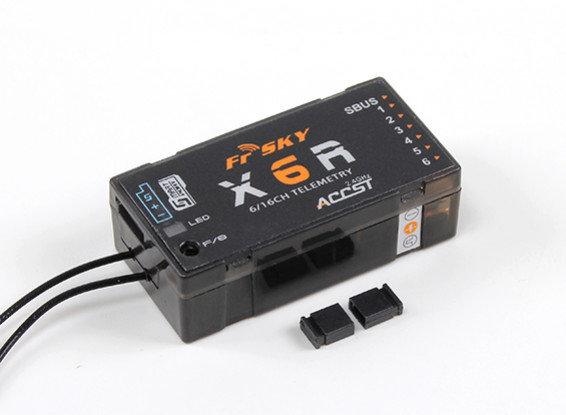 FrSky X6R 6/16Ch S.BUS ACCST Telemetry Receiver W/Smart Port