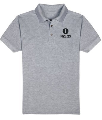 Men's Polo IOM Logo