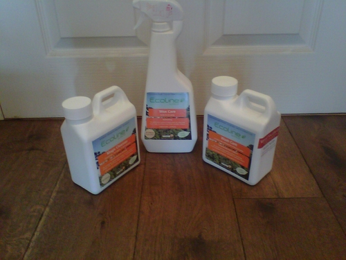 EcoLine Cleaning Kit for all floor finish types