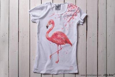 Flamingo [ФУТБОЛКА ЖЕНСКАЯ]