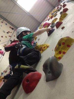 Intermediate Indoor Climbing