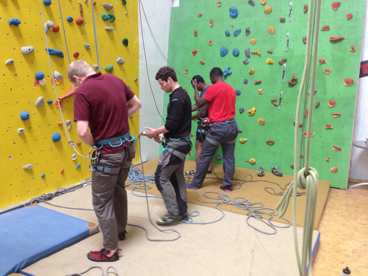 Introduction to Indoor Climbing