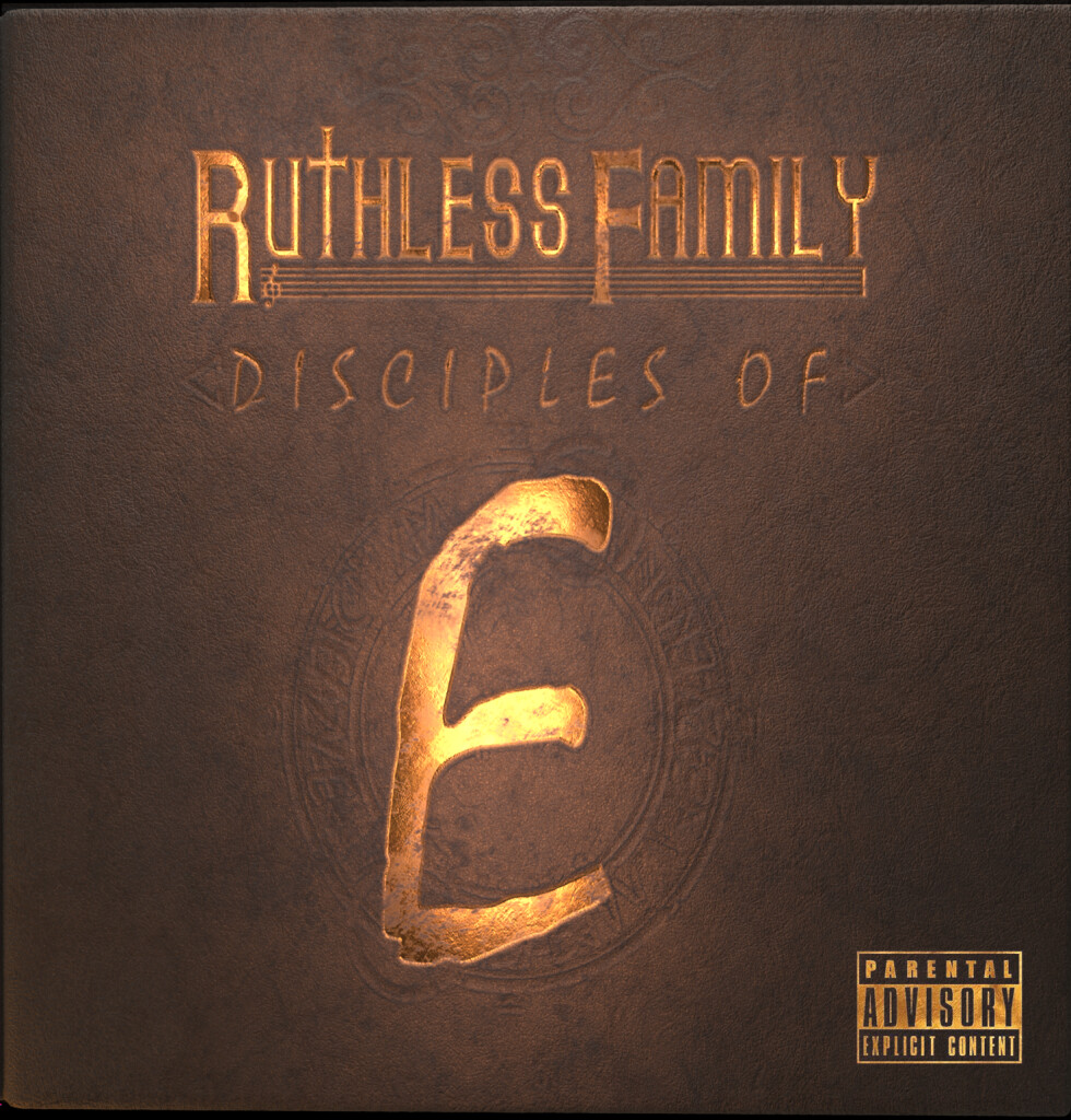 Ruthless Family : Disciples of E  (1 record vinyl) Limited Quantity #eazye #ruthlessfamily