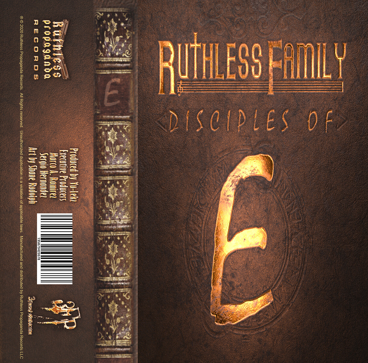 Ruthless Family : Disciples of E  (Cassette Tape + Digital) Limited Quantity #eazye #ruthlessfamily #tape