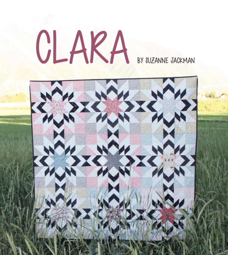 Clara - Quilt Pattern - PDF Download