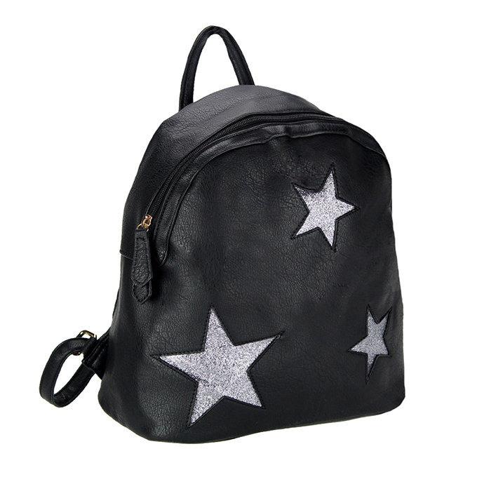 Zaino c/stelle black