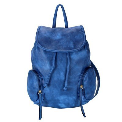 Zaino c/taschini esterni blue