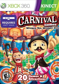 Carnival Games Monkey See Monkey Do - XBOX 360 - New