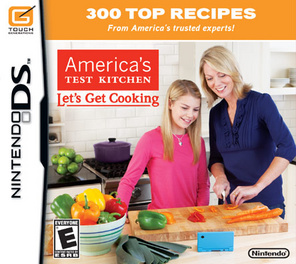 Americas Test Kitchen Let's Get Cooking - DS - Used