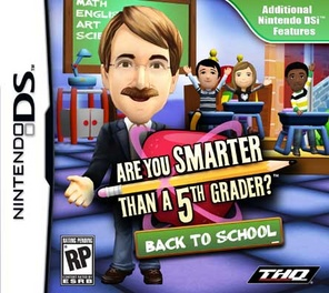 Are You Smarter Than A 5th Grader: Back To School - DS - Used