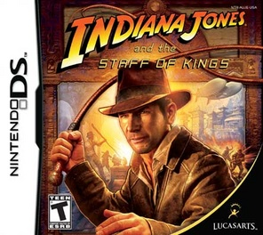 Indiana Jones And The Staff Of Kings - DS - Used