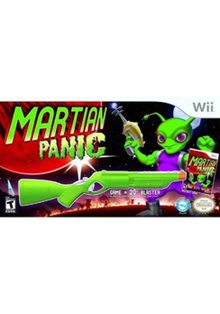 Martian Panic with Blaster - Wii - Used