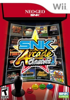 SNK Arcade Classics V.1 - Wii - Used
