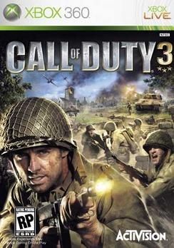 Call Of Duty 3 (enhanced) - XBOX 360 - Used
