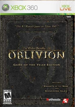Elder Scrolls IV Oblivion Game Of The Year Edition - XBOX 360 - Used