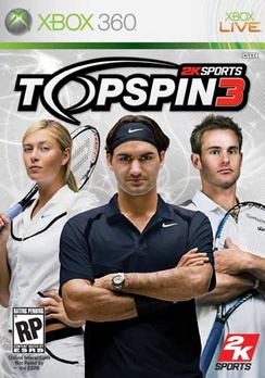 Top Spin 3 - XBOX 360 - Used