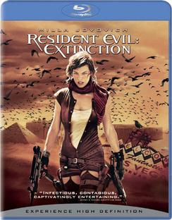 Resident Evil: Extinction - Blu-ray - Used