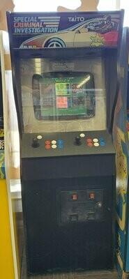 SCI Special Criminal Investigation Multicade Arcade machine