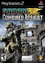 SOCOM: U.S. Navy SEALs Combined Assault - PS2 - Used