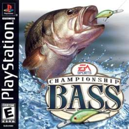 Championship Bass - PlayStation - Used
