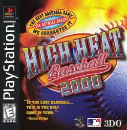 High Heat Baseball 2000 - PlayStation - Used
