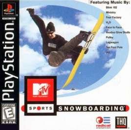 MTV Sports Snowboarding - PlayStation - Used