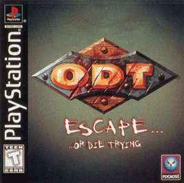 O.D.T.: Escape... ...Or Die Trying - PlayStation - Used