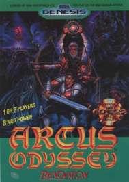 Arcus Odyssey - Sega Genesis - Used