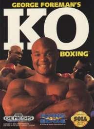 George Foreman's K.O. Boxing - Sega Genesis - Used
