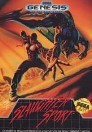 Slaughter Sport - Sega Genesis - Used