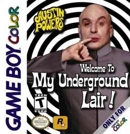 Austin Powers: Welcome To My Underground Lair - Game Boy Color - Used