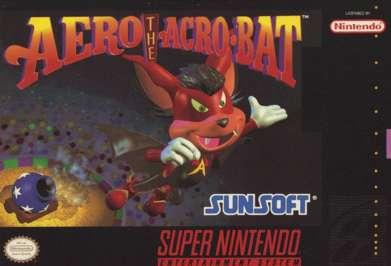 Aero the Acrobat - SNES - Used