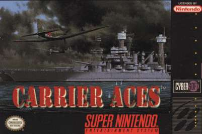 Carrier Aces - SNES - Used