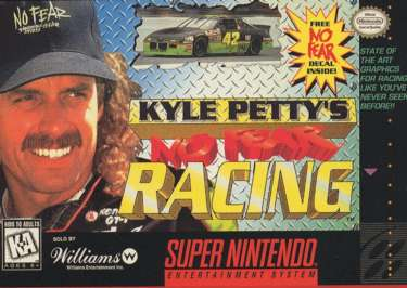 Kyle Petty's No Fear Racing - SNES - Used