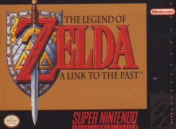 Legend of Zelda: A Link to the Past - SNES - Used
