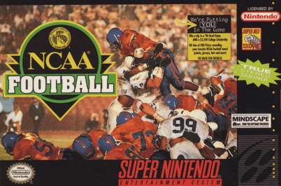 NCAA Football - SNES - Used