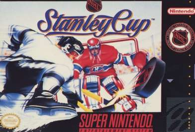 NHL Stanley Cup - SNES - Used