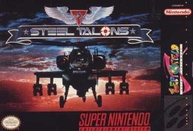 Steel Talons - SNES - Used