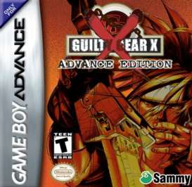 Guilty Gear X - GBA - Used