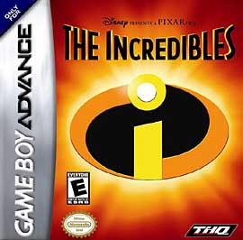 Incredibles - GBA - Used