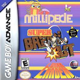 Millipede / Super Breakout / Lunar Lander - GBA - Used