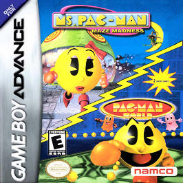 Ms. Pac-Man Maze Madness / Pac-Man World - GBA - Used