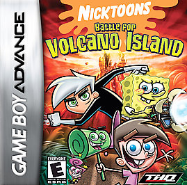 Nicktoons: Battle For Volcano Island - GBA - Used
