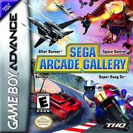 Sega Arcade Gallery - GBA - Used