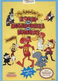 Adventures of Rocky and Bullwinkle and Friends - NES - Used