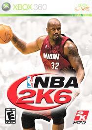 NBA 2K6 - XBOX 360 - Used