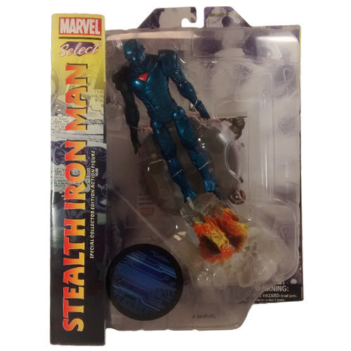 Marvel Select Stealth Iron Man Figure