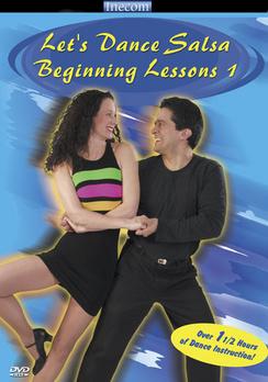 Let's Dance Salsa: Beginning Lessons 1 - DVD - Used